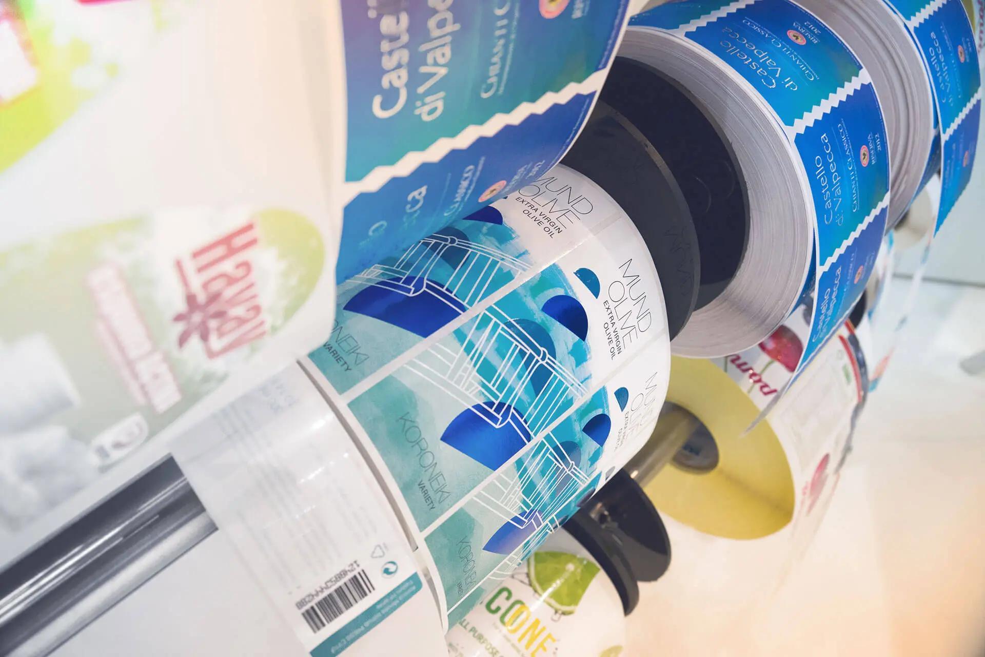 Label printing improves the brands message | KONICA MINOLTA