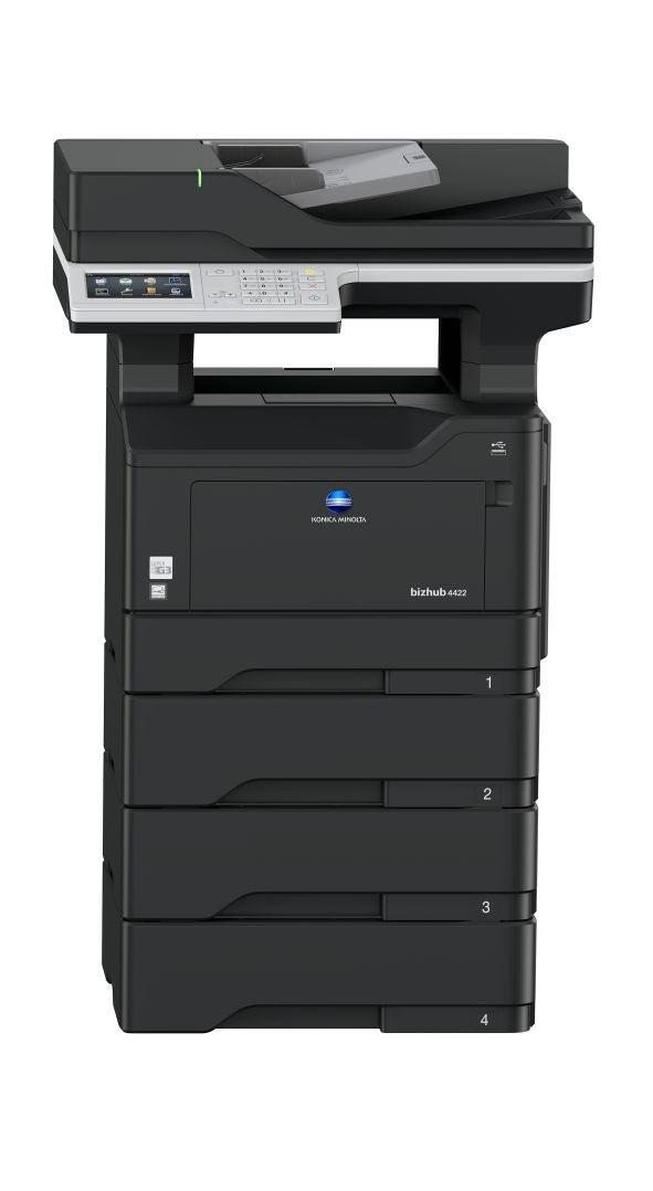 bizhub 4422 a4 multifunktionsdrucker schwarz wei. Black Bedroom Furniture Sets. Home Design Ideas