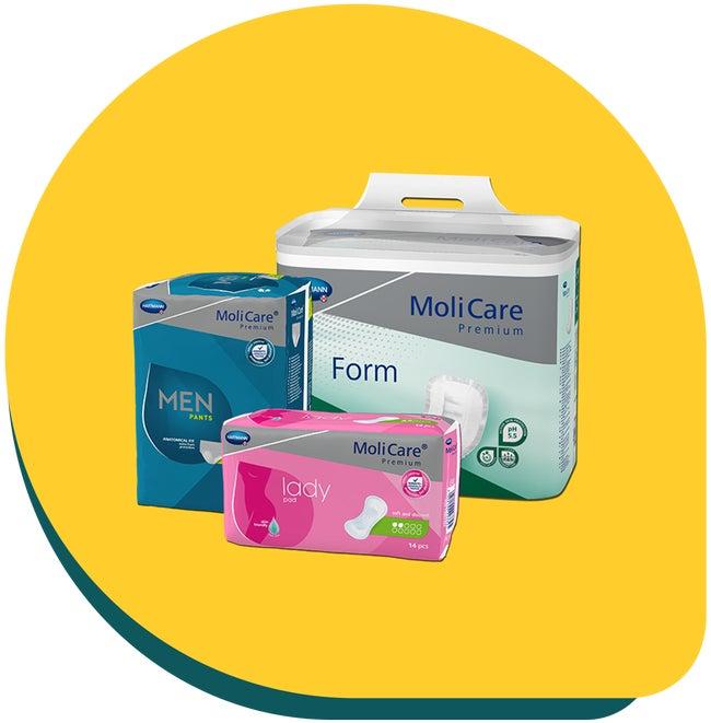Produits d'incontinence