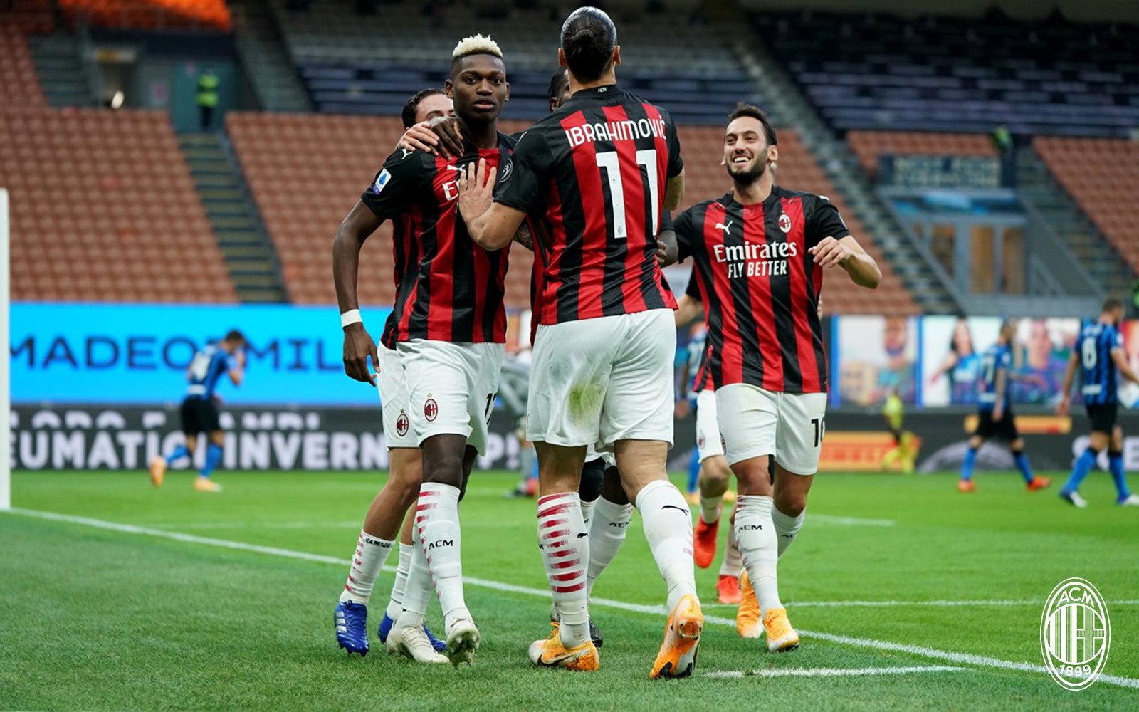 Match report Inter 1-2 AC Milan, Serie A 2020/2021   AC Milan