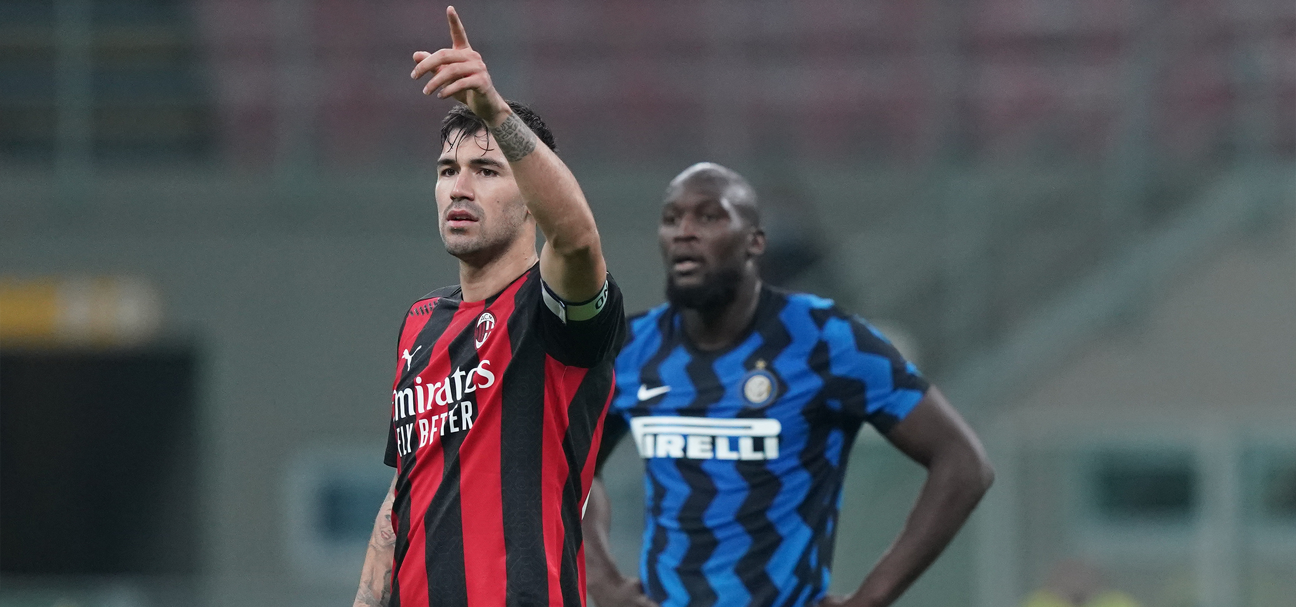 Facts And Figures From Inter 1 2 Ac Milan Serie A Tim 2020 2021 Ac Milan