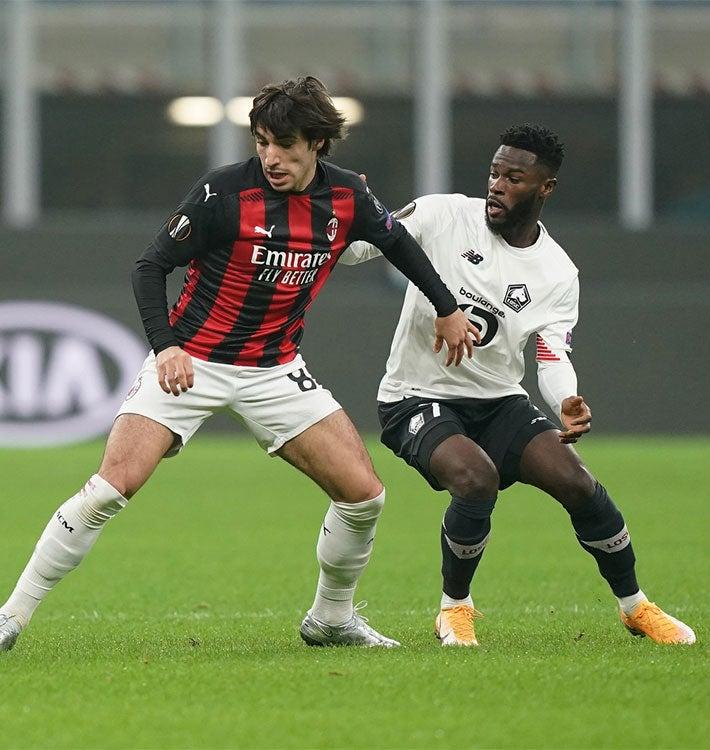 Match Report AC Milan 0-3 Lille, Europa League 2020/2021 ...