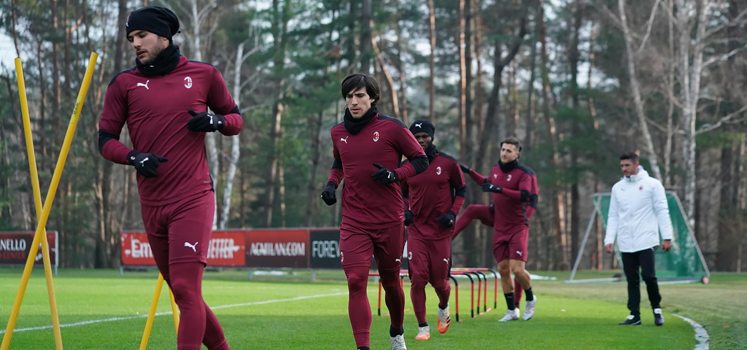 Report Allenamento: Milanello, 18 dicembre 2020   AC Milan