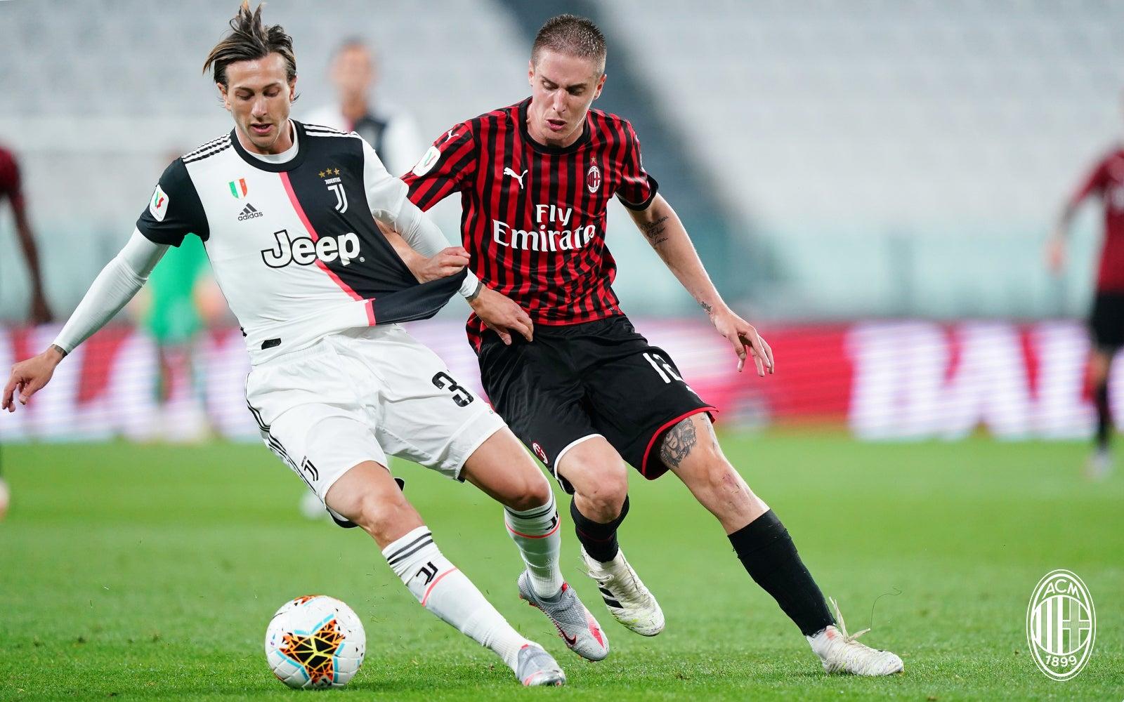 2021 AC Milan Calendrier de football officiel A3 Serie A