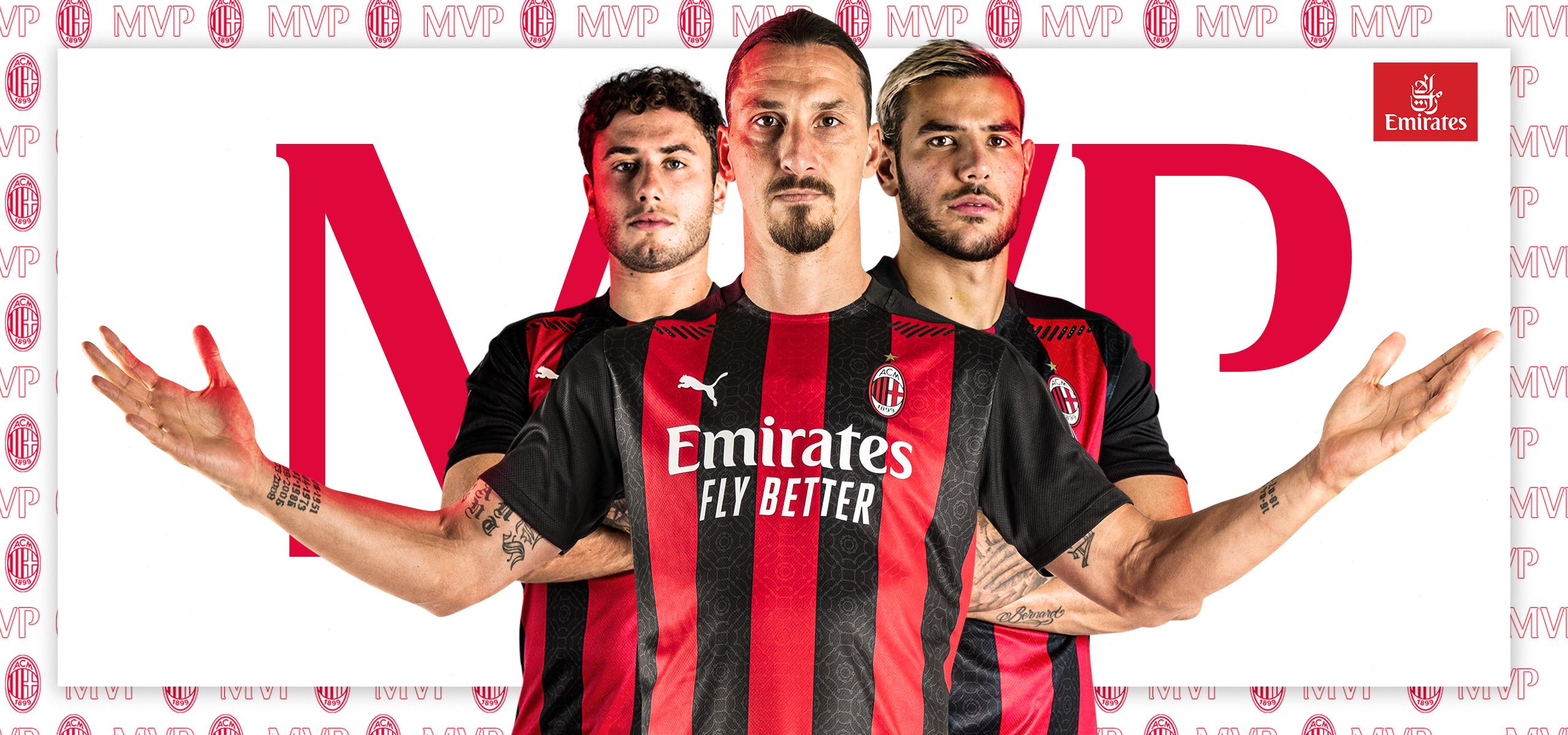 Zlatan Ibrahimović, MVP from AC Milan 2-0 Bologna, Serie A ...