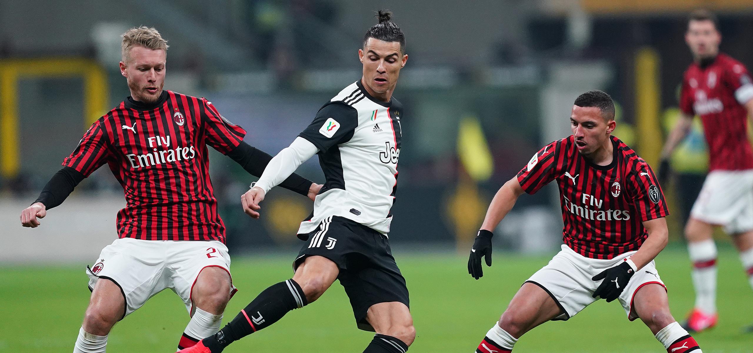 AC Milan v Juventus, Serie A TIM 2019/2020: stats and trivia   AC Milan