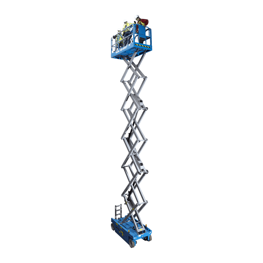11.93m Battery Scissor Lift|Genie GS4047|Horizon Platforms