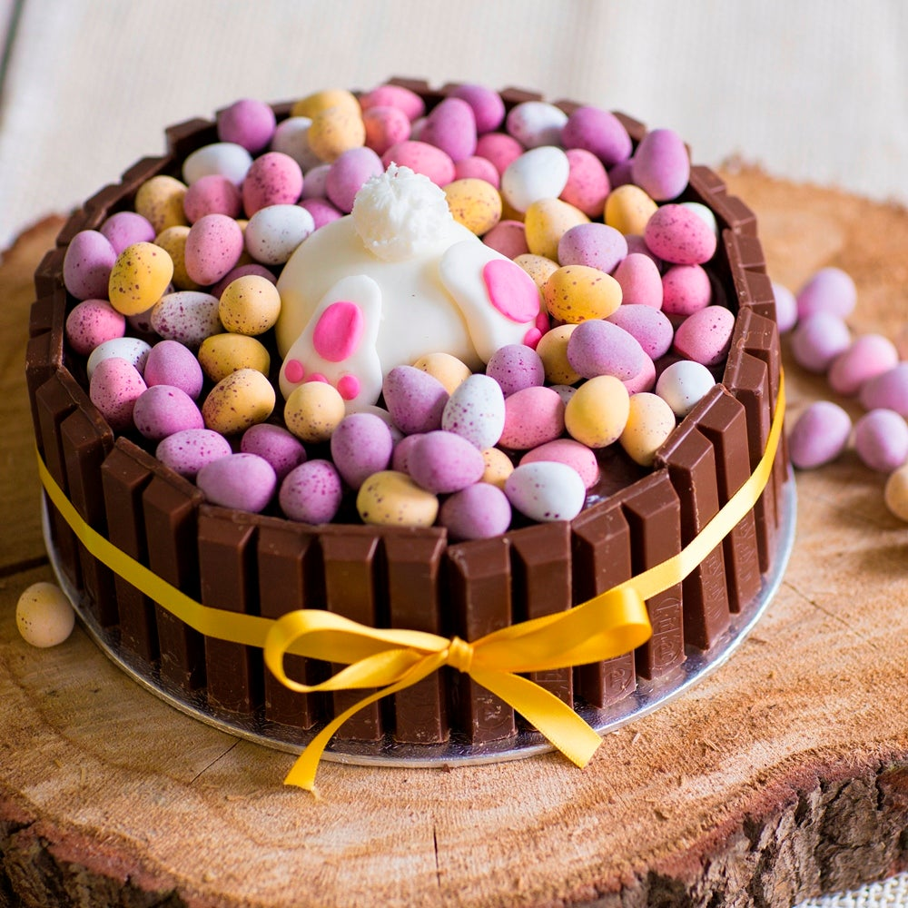 Chocolate Easter Cake Recipe How To Make The Ultimate Easter Bunny Cake Baking Mad
