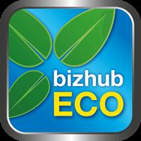 bizhub ECO logo