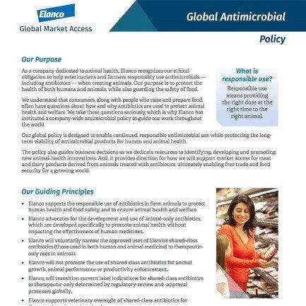 Política antimicrobiana de Elanco