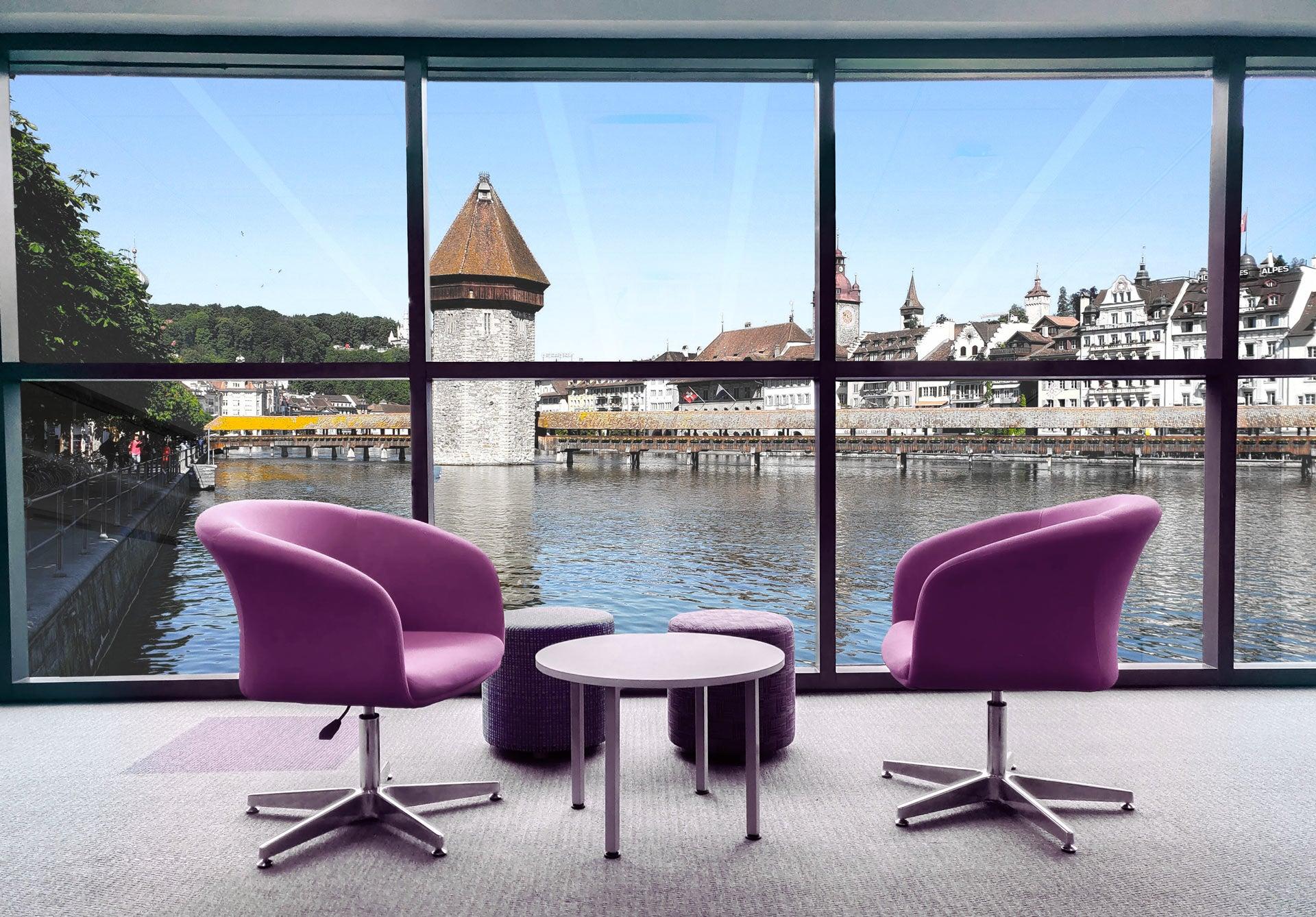 Coworking view in Lucerne - Jamatu