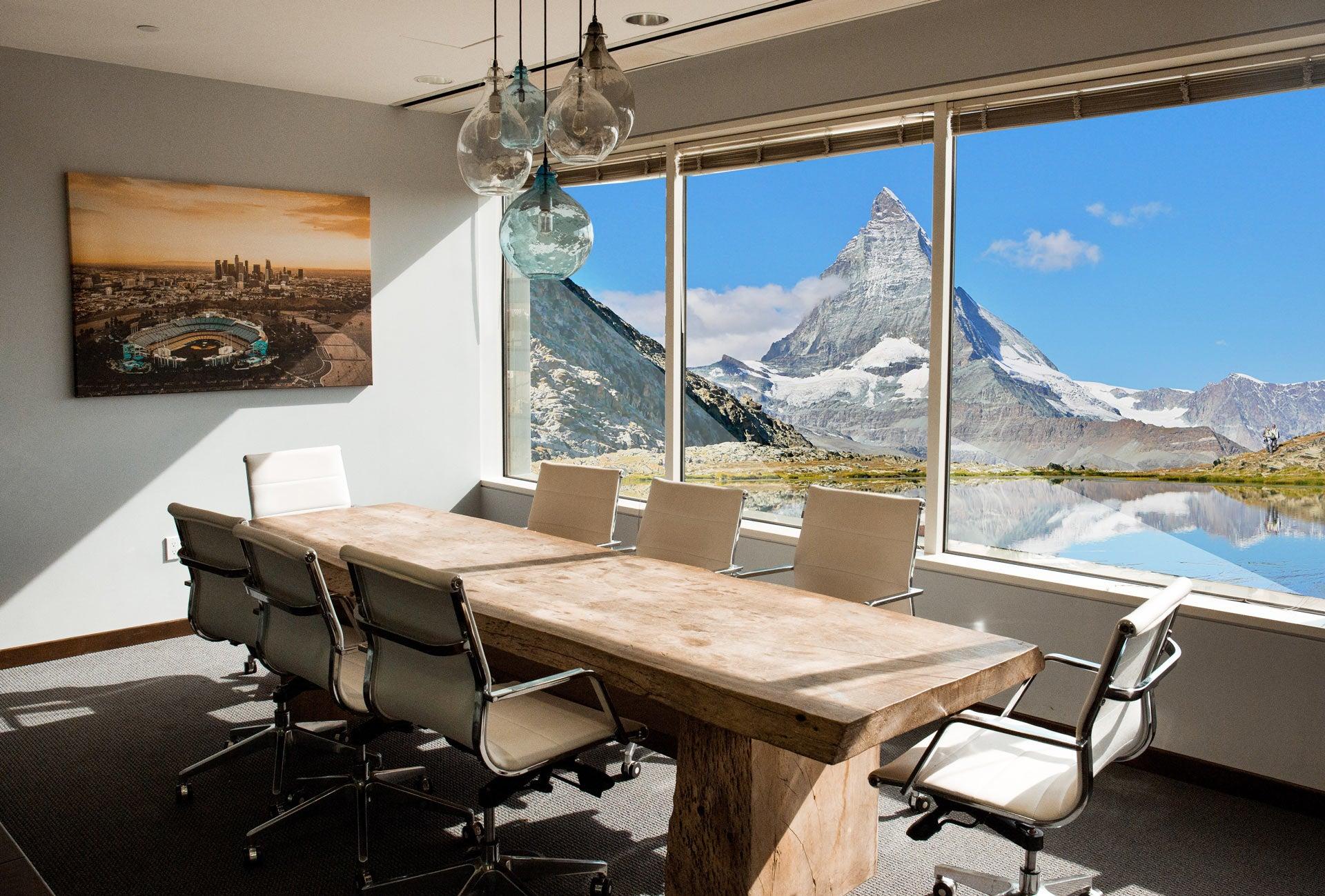 Coworking view in Zermatt - Jamatu