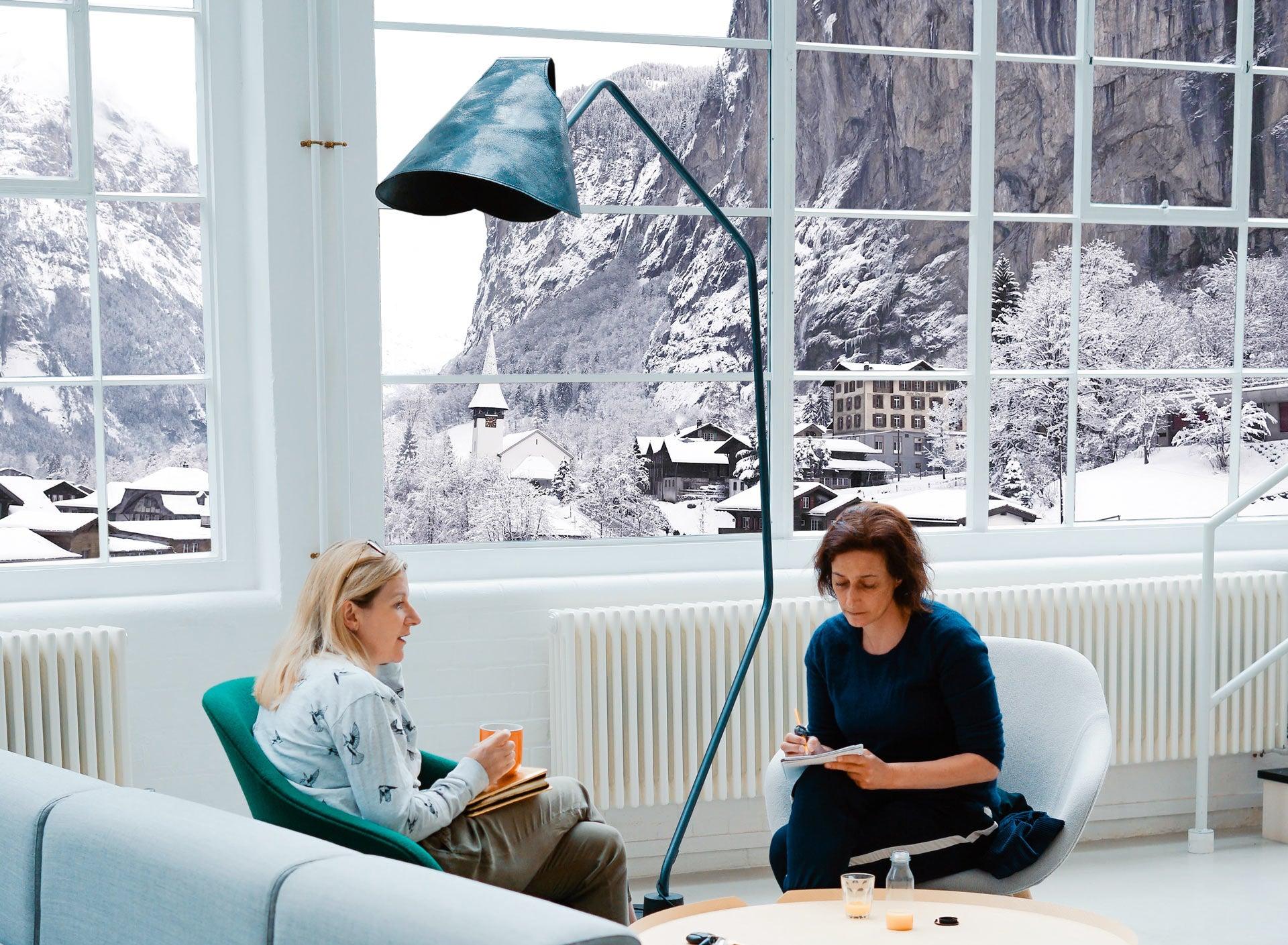 Coworking view in Interlaken - Jamatu