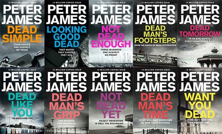 Peter James S Roy Grace Books In Order Pan Macmillan
