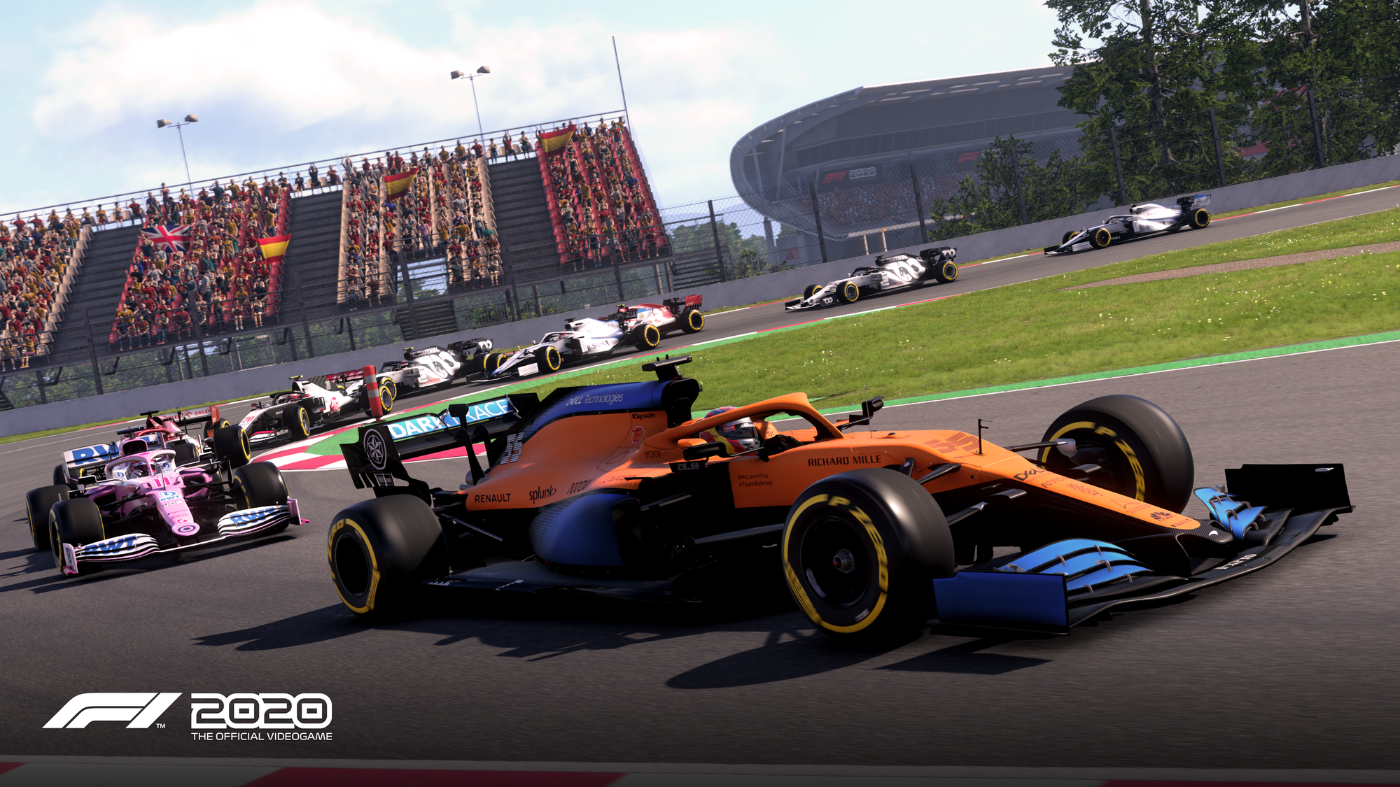 F1 2020: patch notes 1.08 1