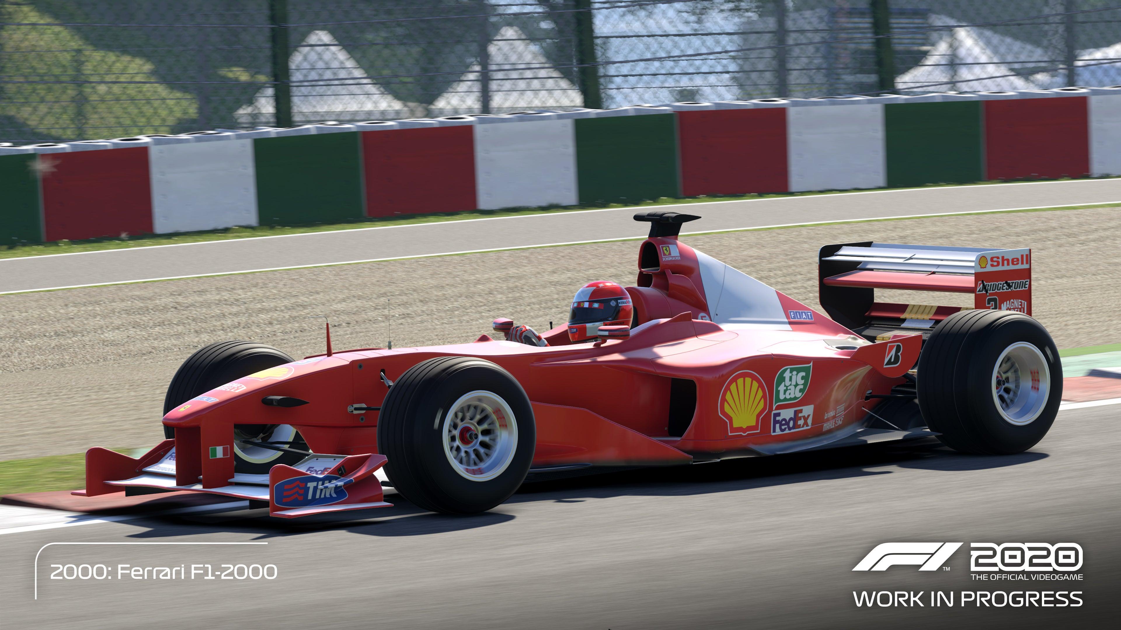 F1 2020 GAME | Los Bólidos de Michael Schumacher ...