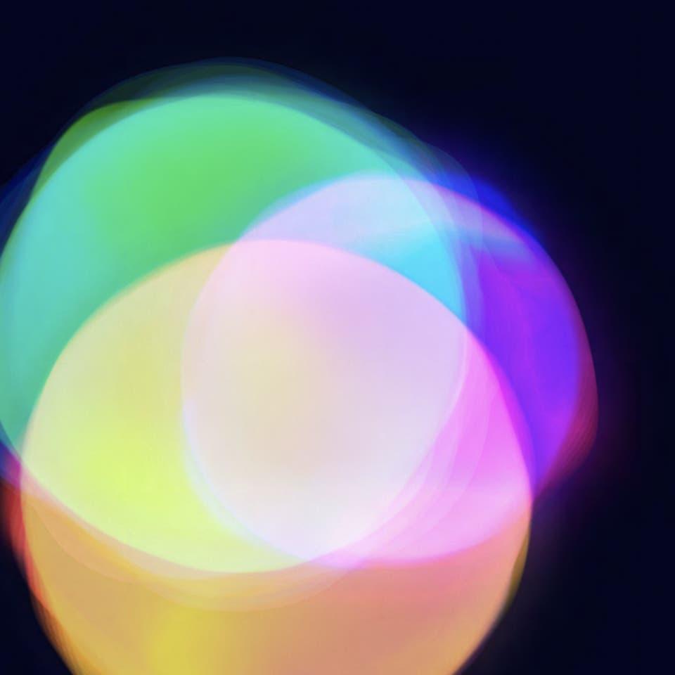 Three colorful balls