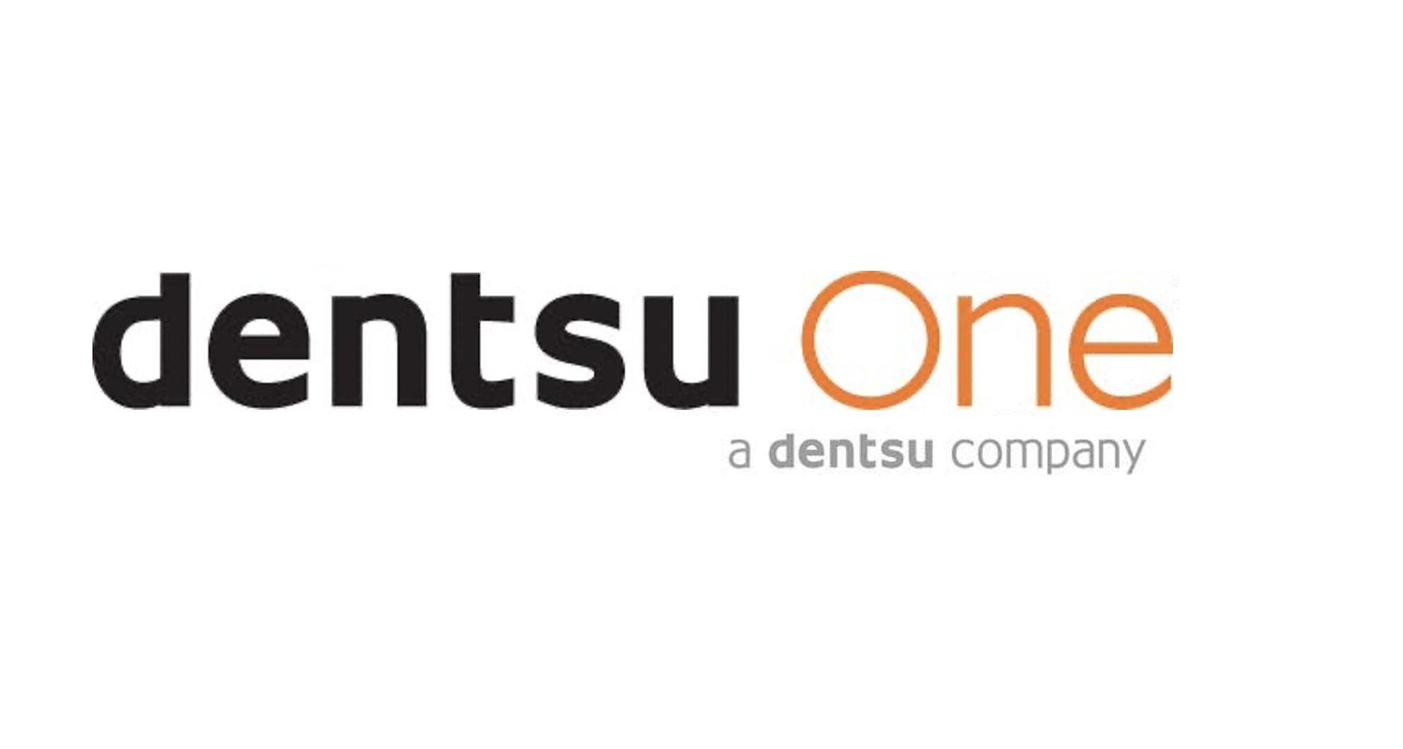dentsuOne a dentsu company logo