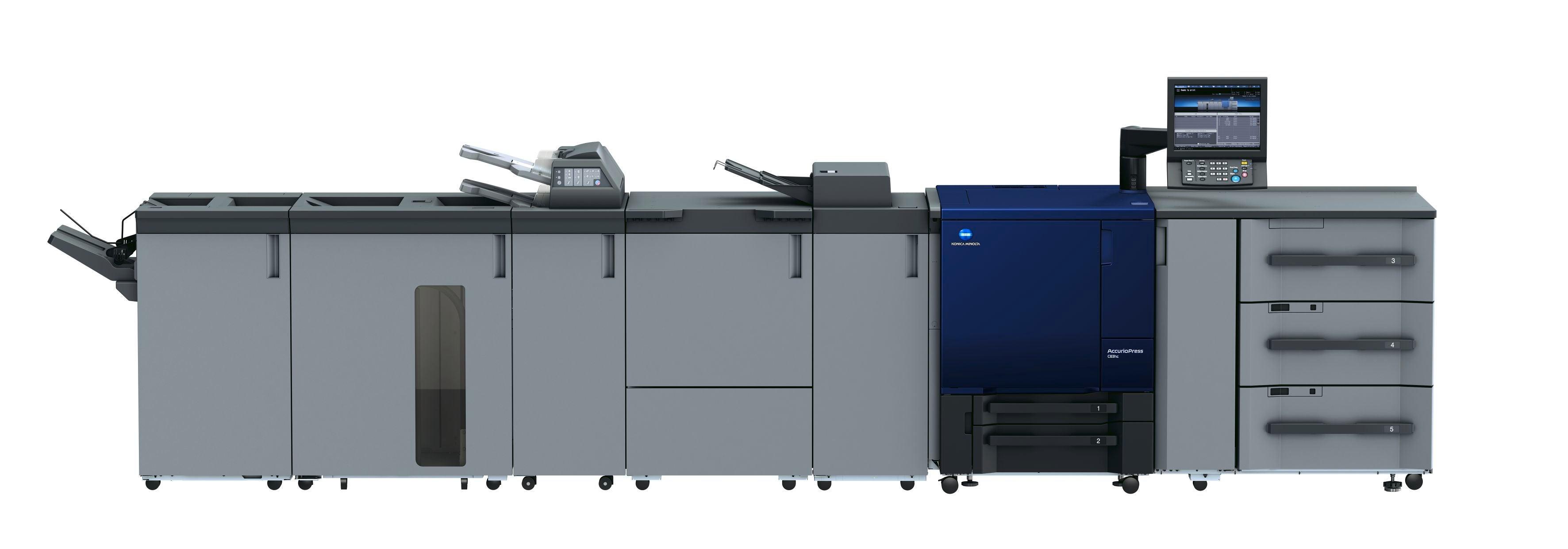 Imprimante professionnelle Konica Minolta accurioPress c83hc