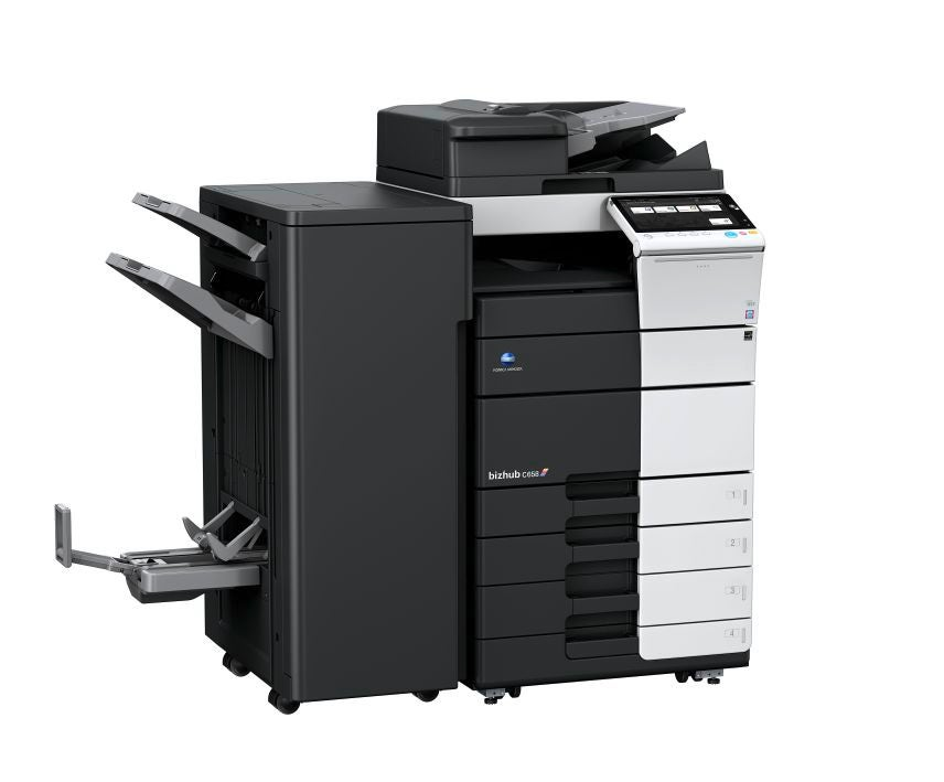 Konica Minolta bizhub c658 multifunktionsprinter