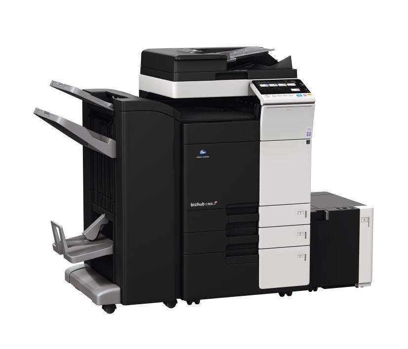 Konica Minolta bizhub c368 офисный принтер