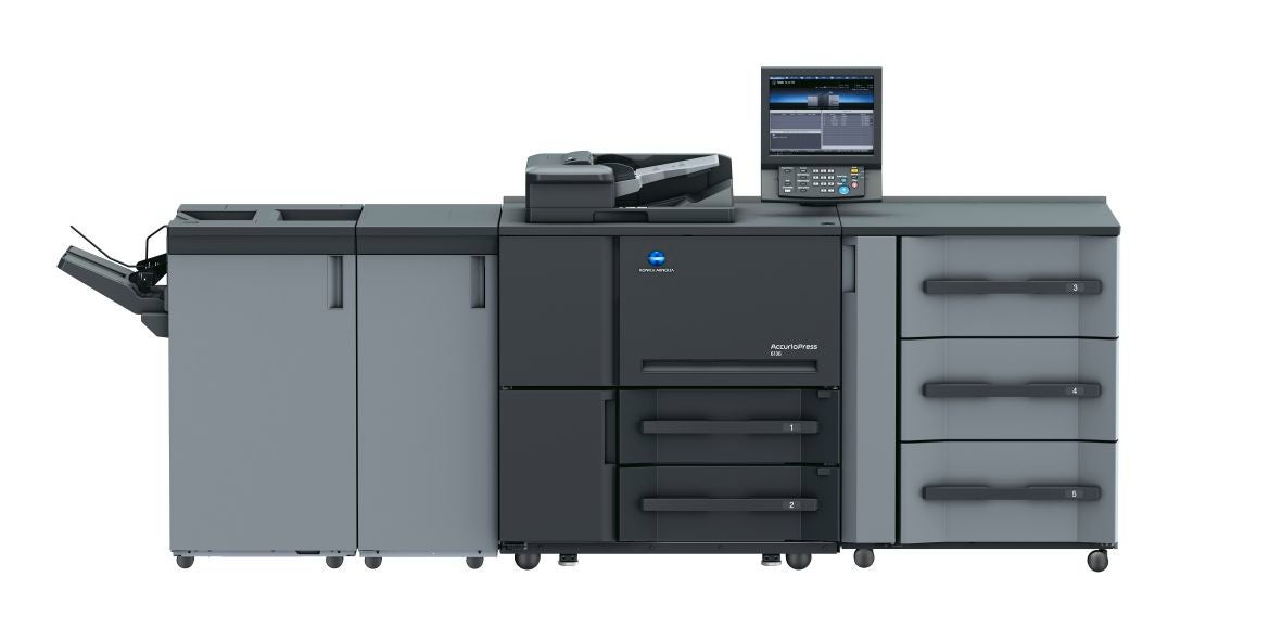 Den professionella skrivaren Konica Minolta accurio press 6120