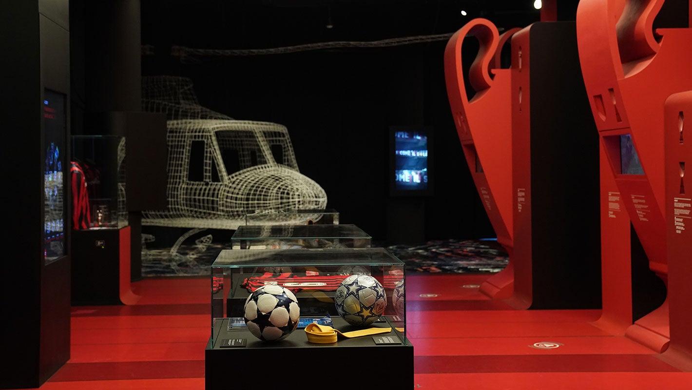 AC Milan's trophy cabinet