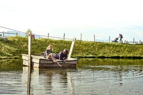 Entspannung am Speicherteich © MAYA Inspiranto (Tourismusverband Rauris)