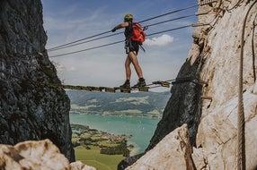 Klettersteig-Drachenwand-Mondsee © Oesterreich-Werbung Foto Jonathan Graml