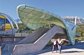 Nordkettenbahn-Station-Hungerburgbahn-Innsbruck © Innsbruck-Tourismus Fotograf Christof Lackner