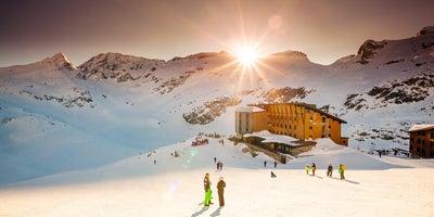 Sonnenuntergang_RH_Winter © gletscherwelt-weissee.at