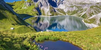 Luenersee-Alpenregion-Bludenz © Oesterreich-Werbung Foto Julius Silver