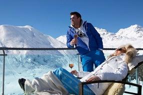 Serfaus-Fiss-Ladis Ski Lounge Serfaus - Terrasse © Seilbahn Komperdell GmbH