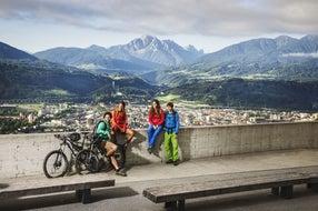 Radfahren-in-Innsbruck © Innsbruck-Tourismus Fotograf Andre Schoenherr