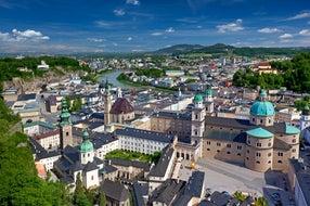 Blick-von-der-Festung-Hohensalzburg © Oesterreich-Werbung Foto Julius Silver