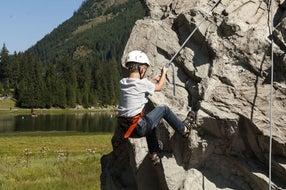 Klettern für die Kleinen- ein besonderer Spaß © zauchensee.com