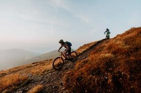 Mountainbiken-in-der-nock-bike-Region-Bad-Kleinkirchheim-Millstaetter-See © Oesterreich-Werbung Foto Charly Schwarz