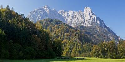 Wilder-Kaiser-Richtung-Kaiserbachtal-Tirol © Oesterreich-Werbung Fotograf Conrad Amber