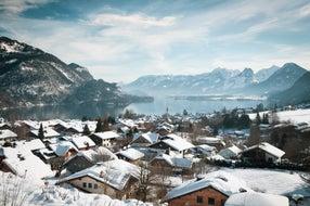Winterlandschaft-am-Wolfgangsee © Lisa Eiersebner