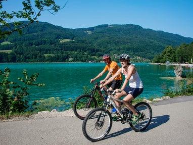 Radfahren am Mondsee © STMG/Stadler Fotograf: Wolfgang Stadler