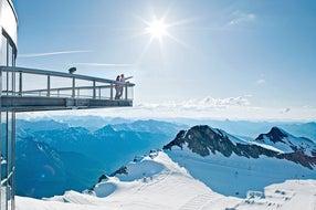 Aussichtsplattform-kitzsteinhorn © Kitzsteinhorn