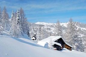 Winterlandschaftsbild © Kärnten Werbung, Foto Franz Gerdl