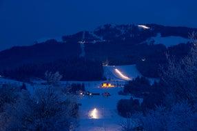 Nassfeld bei Nacht © Kärnten Werbung Foto  Franz Gerdl