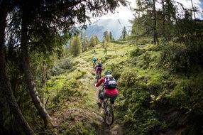 Biken am Kitzsteinhorn  © SalzburgerLand/David Schultheiss