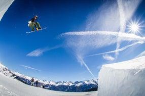 Serfaus-Fiss-Ladis Funpark Snowboarder © Felix Pirker Qparks