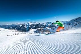 Skifahren-in-Zauchensee © Altenmarkt-Zauchensee-Tourismus Foto Christian Schartner
