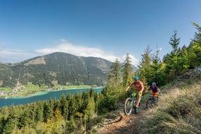 Mountainbikefahren-in-der-Region-Weissensee © Oesterreich-Werbung Foto Martin Steinthaler - TineFoto