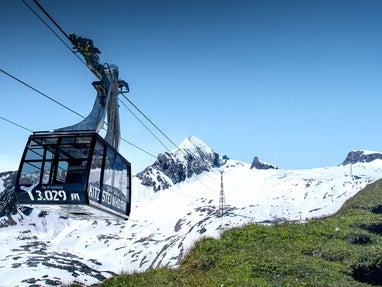 Komfortabler Aufstieg auf 3000 Meter © Kitzsteinhorn