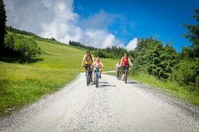 Radfahren für die ganze Familie in Zell am See-Kaprun ©  Kitzsteinhorn