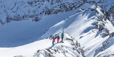 Skitouren-Freeriden © flattach.at